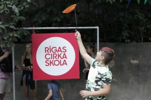 PLAYGROUND OF RIGA CIRCUS SCHOOL