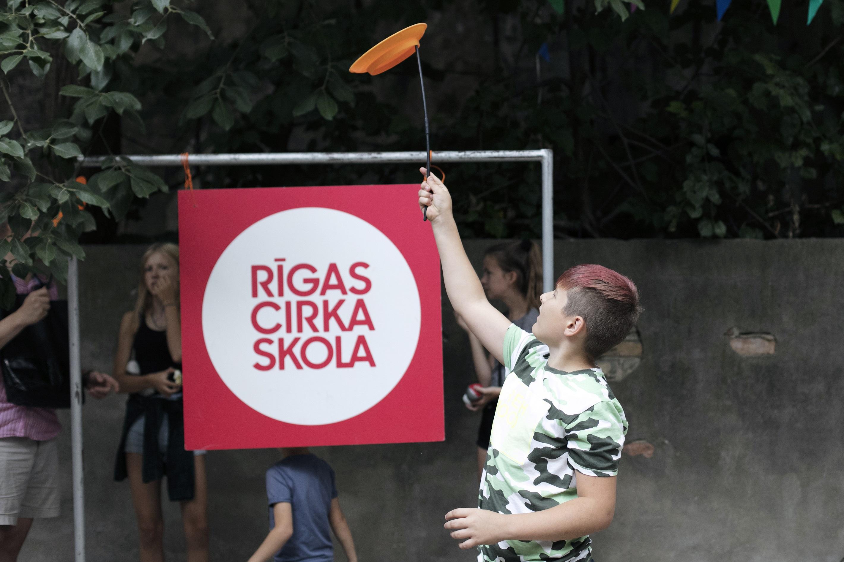 PLAYGROUND OF RIGA CIRCUS SCHOOL